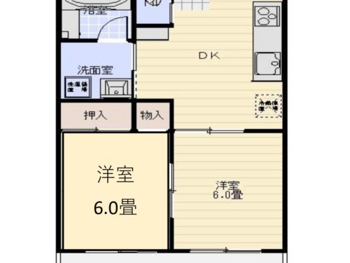プラネットマンション間取り(間取)